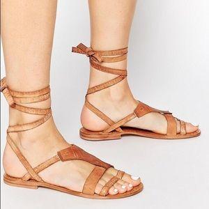 FREE PEOPLE 'Oliviera' wrap sandal